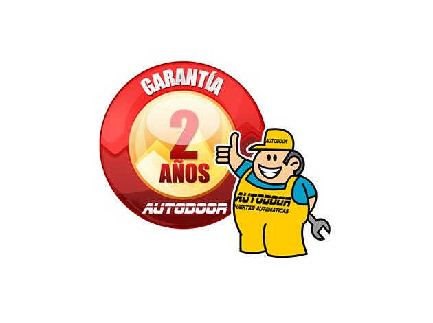 Dos años de garantía Autodoor